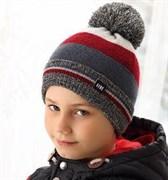.AJS шапка 38-586 шапка подкл.флис (р.52-54)