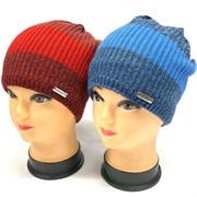 GRANS шапка K 480 одинарная вязка подкл.хлопок (р.52-54)