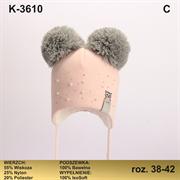 Magrof шапка KOD-3610 ISOSOFT подклад хлопок (р.38-44)