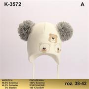 Magrof шапка KOD-3572 ISOSOFT подклад хлопок (р.38-44)