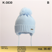 Magrof шапка KOD-3830 ISOSOFT подклад хлопок (р.36-42)