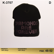 Magrof шапка KOD-3707 двойная вязка (р.48-54)