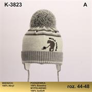 Magrof шапка KOD-3823 ISOSOFT подклад хлопок (р.44-50)