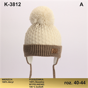 Magrof шапка KOD-3812 ISOSOFT подклад хлопок (р.40-46)