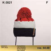 Magrof шапка KOD-3821 ISOSOFT подклад хлопок (р.44-50)