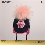 Magrof шапка KOD-3912 кепка подклад флис (р.48-54)