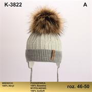 Magrof шапка KOD-3822 ISOSOFT подклад хлопок (р.46-52)