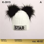 Magrof шапка KOD-3915 подклад флис (р.48-54)