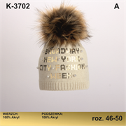 Magrof шапка KOD-3702 двойная вязка (р.46-52)