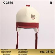 Magrof шапка KOD-3569 ISOSOFT подклад хлопок (р.38-44)