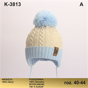 Magrof шапка KOD-3813 ISOSOFT подклад хлопок (р.40-46)