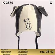 Magrof шапка KOD-3570 ISOSOFT подклад хлопок (р.38-44)