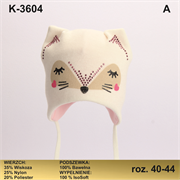 Magrof шапка KOD-3604 ISOSOFT подклад хлопок (р.40-46)