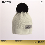 Magrof шапка KOD-3703 двойная вязка (р.48-54)