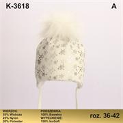Magrof шапка KOD-3618 ISOSOFT подклад хлопок (р.36-44)