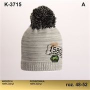 Magrof шапка KOD-3715 двойная вязка (р.48-54)