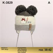 Magrof шапка KOD-3829 ISOSOFT подклад хлопок (р.38-44)