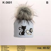 Magrof шапка KOD-3601 ISOSOFT подклад хлопок (р.48-54)