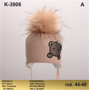 Magrof шапка KOD-3906 ISOSOFT подклад хлопок (р.44-50)