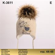 Magrof шапка KOD-3611 ISOSOFT подклад хлопок (р.48-54)