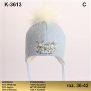 Magrof шапка KOD-3613 ISOSOFT подклад хлопок (р.36-42)