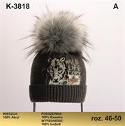 Magrof шапка KOD-3818 ISOSOFT подклад хлопок (р.48-50)