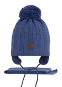 AGBO комплект 2615 Dolar3 шапка подклад флис.+шарф (р.50-52)