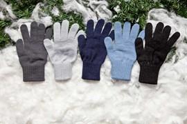 margot перчатки VERO одинарная вязка (размер 17, 11-16лет)