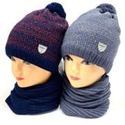 AGBO комплект 2296 Sebek шапка на флисе+снуд (р.48-50)