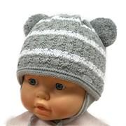 GRANS мод. A 980 ST шапка с утеплителем, подклад хлопок (р.38-40)