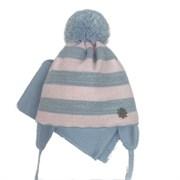 GRANS комплект A 930ST шапка с утепл. + шарф (р.42-44)