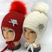 BEBY BOOM модель 9353 шапка с утеплителем подкл.хлопок (р.52-54)