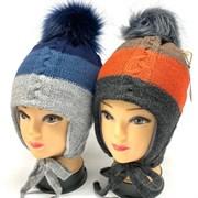 BEBY BOOM модель 9360 шапка с утеплителем подкл.хлопок (р.50-52)