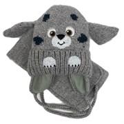 amal  шапка на флисе + шарф (р.48-50) собака