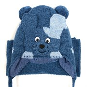 amal  шапка с утеплителем + шарф (р.48-50) собачка