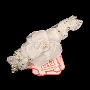 повязка на голову TuTu 3-001800 (р.54)белые