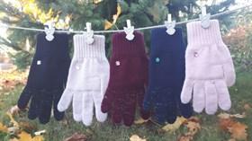 margot перчатки LENOR одинарная вязка (размер 16)