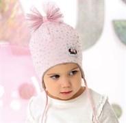 .AJS шапка 40-027M двойной трикотаж (р.48-50)