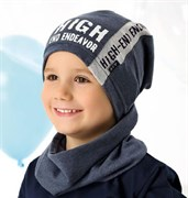 .AJS шапка 40-187L одинарный трикотаж (р.52-54)
