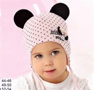 .AJS шапка 40-043L двойной трикотаж (р.52-54)