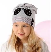.AJS шапка 40-127M одинарный трикотаж (р.48-50)