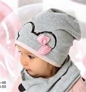 .AJS шапка 40-035M одинарный трикотаж (р.48-50)