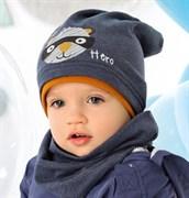 .AJS шапка 40-054M одинарный трикотаж (р.48-50)