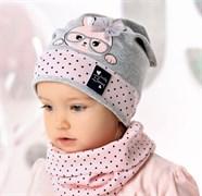 .AJS шапка 40-042M одинарный трикотаж (р.48-50)