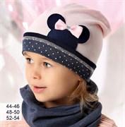 .AJS шапка 40-079L одинарный трикотаж (р.52-54)