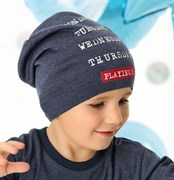 .AJS шапка 40-213 одинарная вязка (р.50-52)