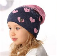 .AJS шапка 40-150 одинарная вязка (р.50-52)