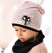 .AJS шапка 40-073L одинарный трикотаж (р.52-54)
