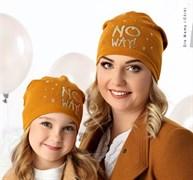 .AJS шапка 40-132L одинарный трикотаж (р.52-54)
