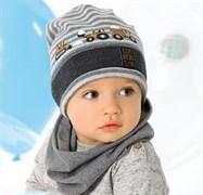.AJS шапка 40-051M одинарный трикотаж (р.48-50)